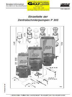 Pumpe 203 Einzelteile