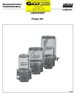 Pumpe 203 (deutsch)