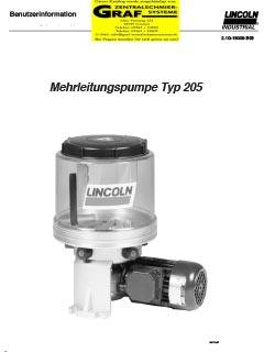 Pumpe 205 (deutsch)