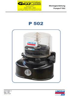 Pumpe 502 Anleitung