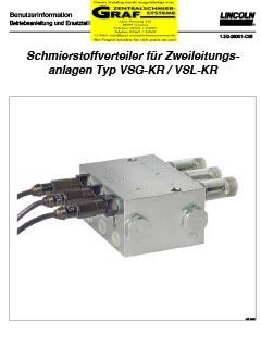 Zweileitungsverteiler VSG-KR + VSL-KR (deutsch)